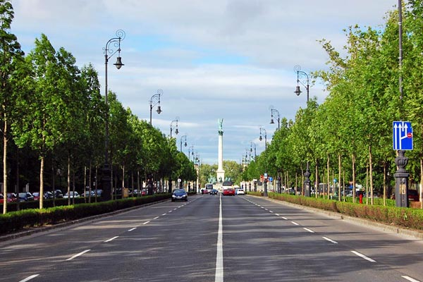 Andrássy Avenue - Budapest Monument of art