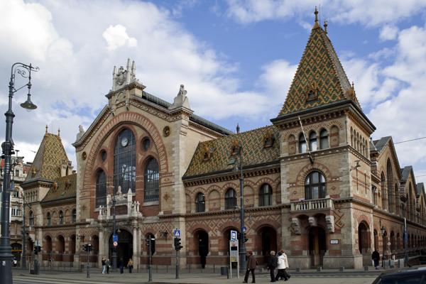 Central Market Hall Budapest Monument Of Art