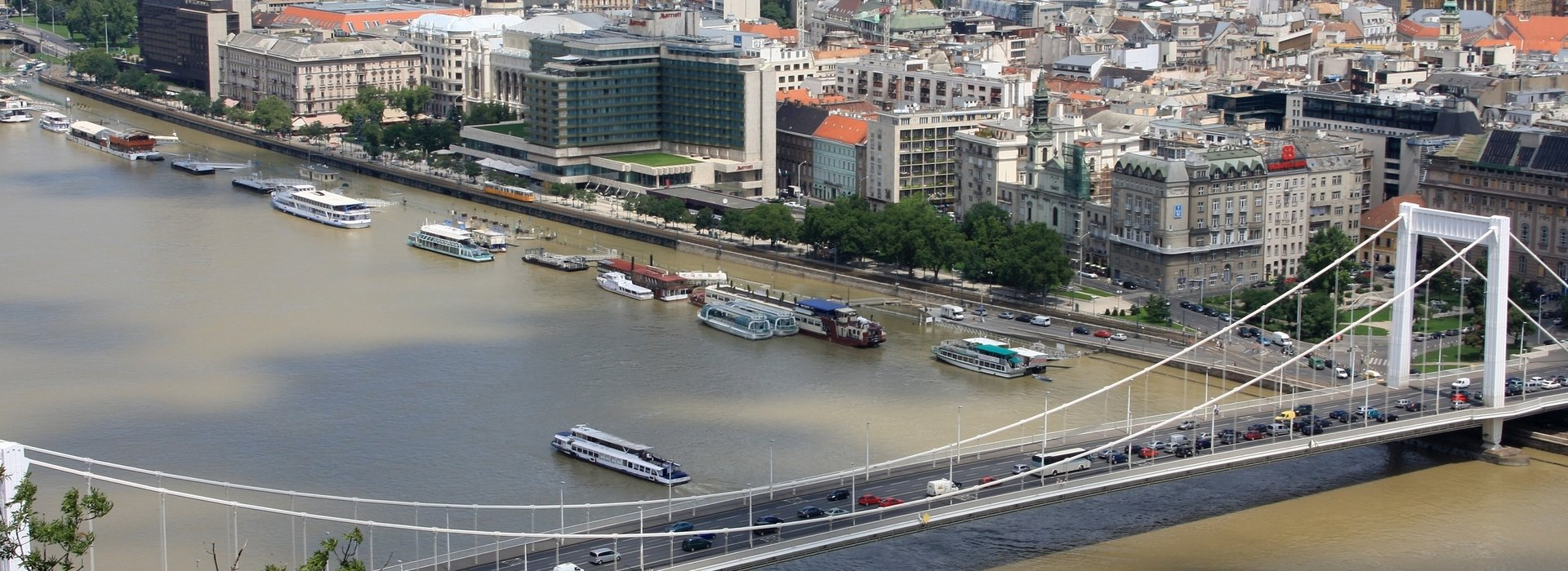 Das Donauufer in Pest – Sehenswürdigkeiten in Budapest, Ungarn