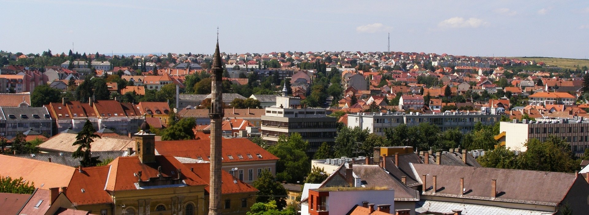 City map of Eger