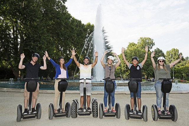 Castle District Segway Tour