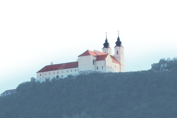 Baroque church and convent of the Benedictine Abbey