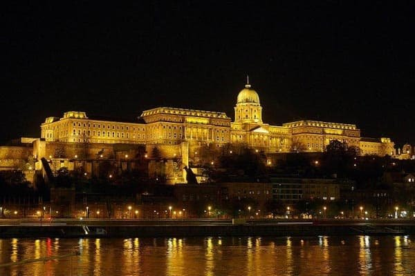 Buda castle district