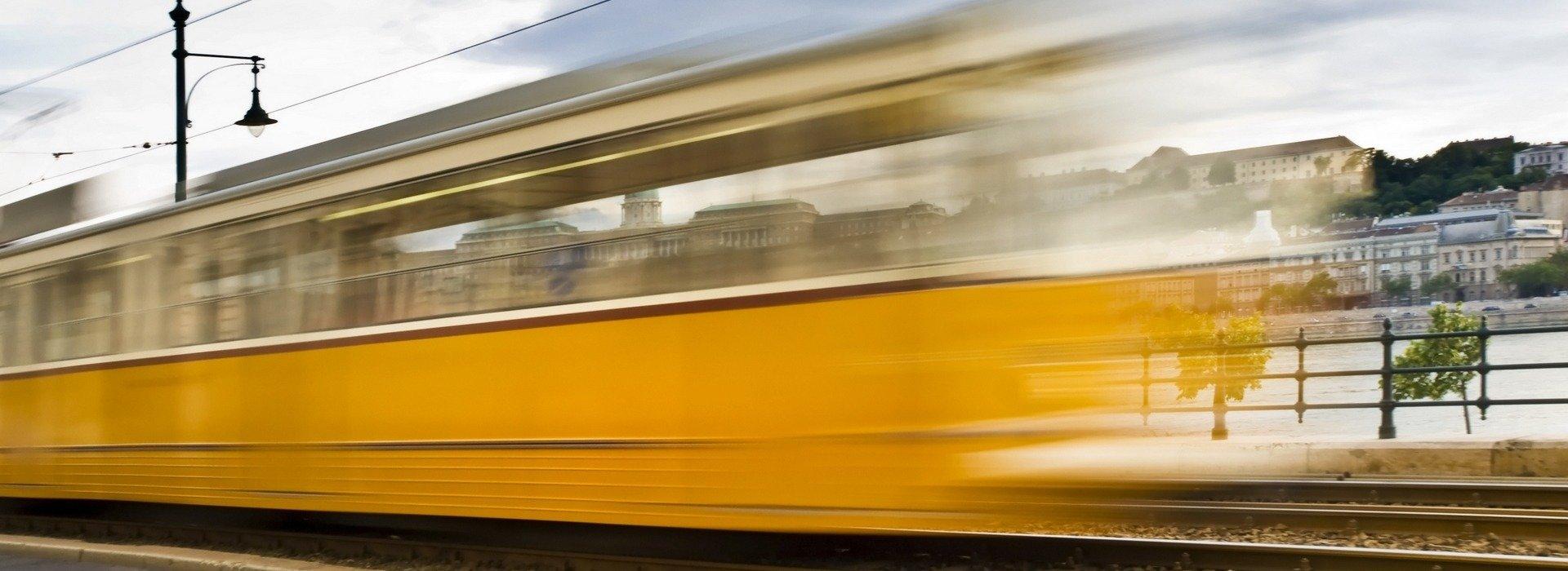 Reise innerhalb Budapest