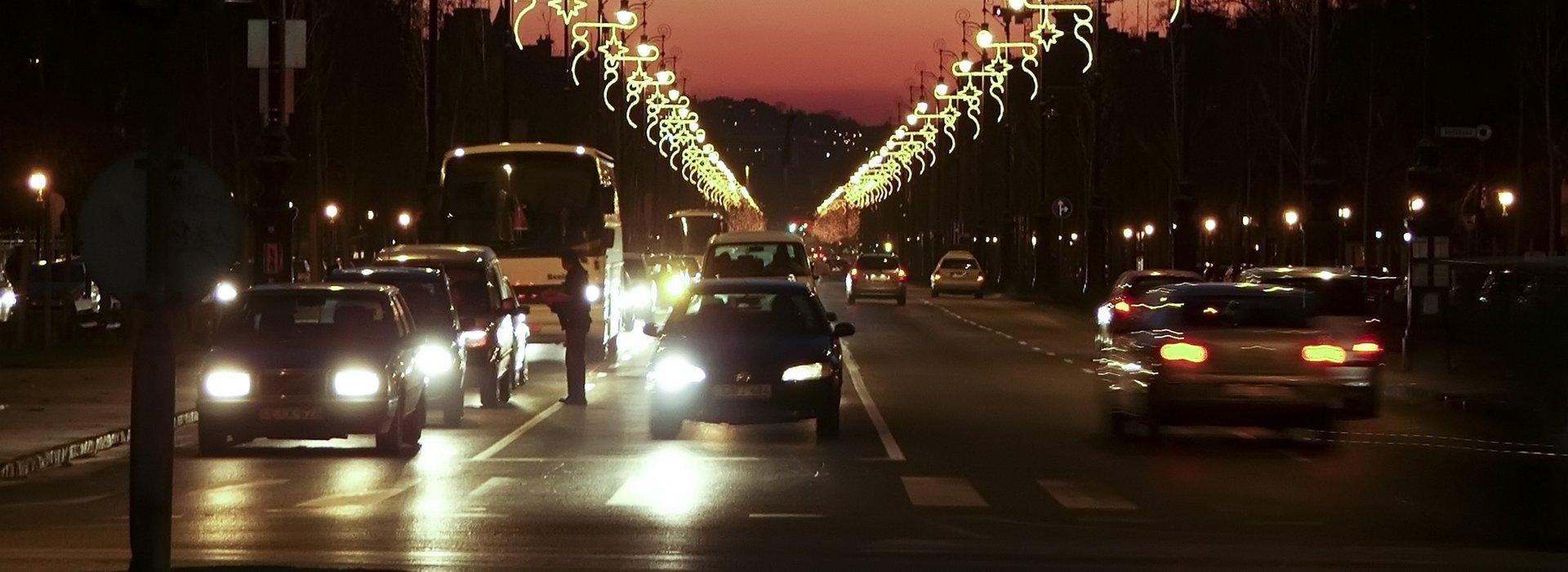 Mit dem Auto in Budapest