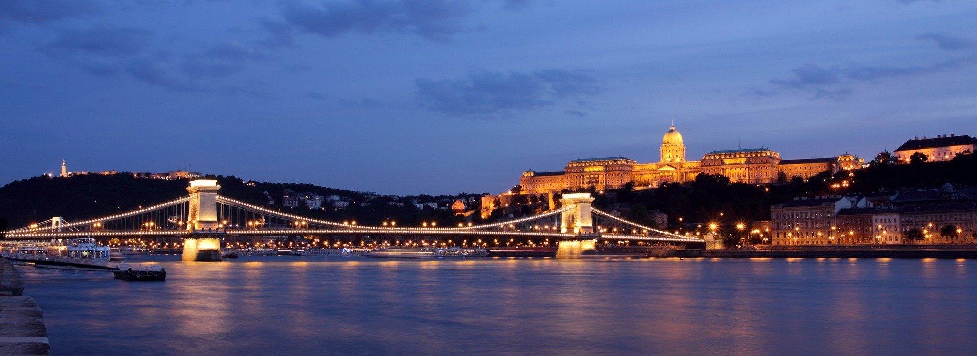 Das Donauufer in Buda