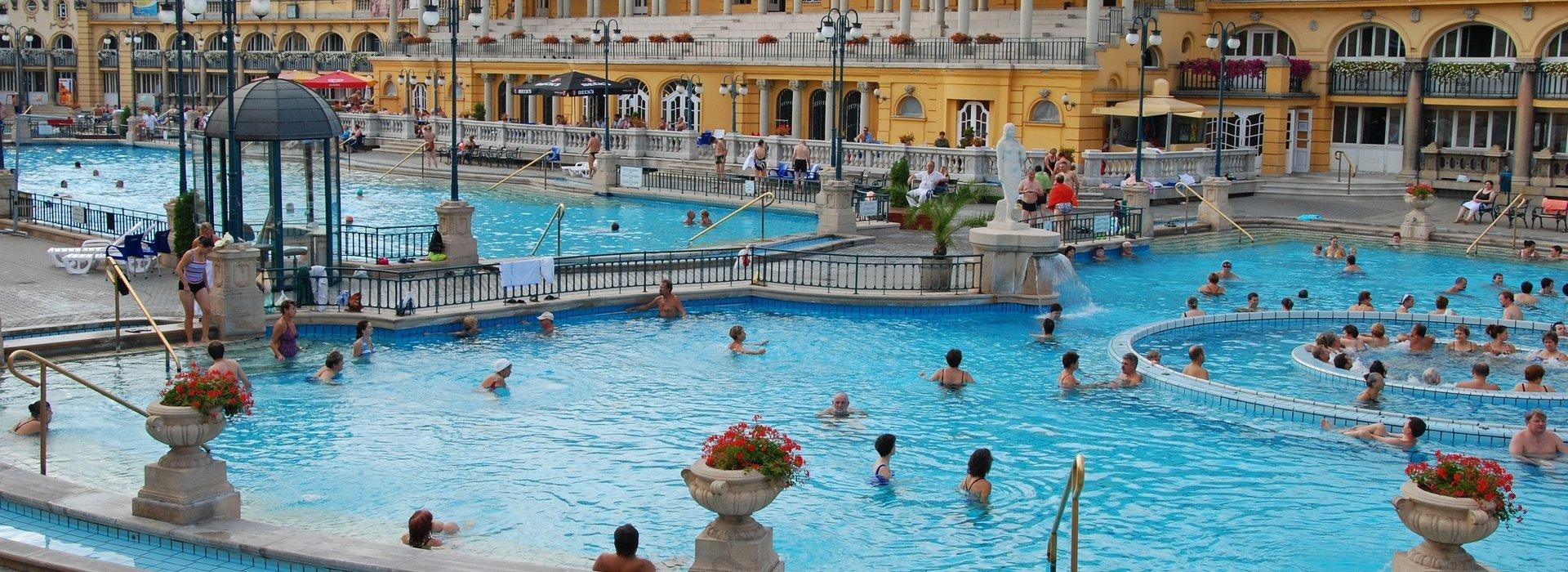Budapest Badestadt
