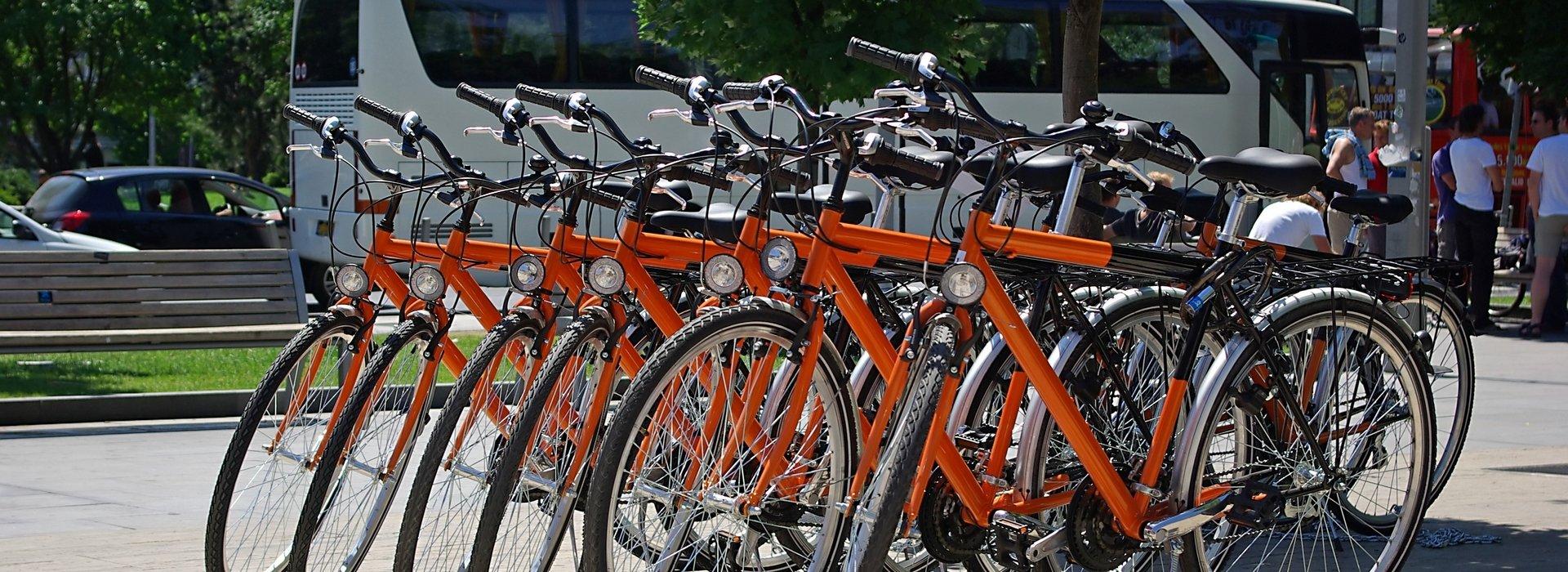 Stadtrundfahrt mit Fahrrad